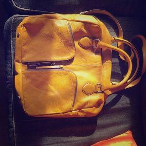 Handbags - abro yellow purse